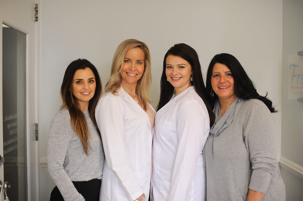 cosmetic nurse injector and esthetician staff at medspa