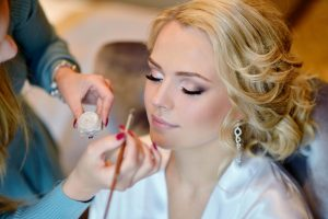 bridal beauty routine